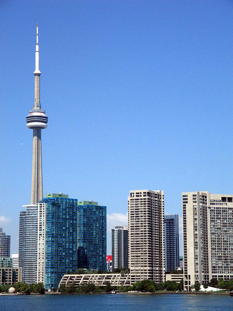 Toronto Photos :: Tatiana Orlova :: Toronto. Downtown. CN Tower