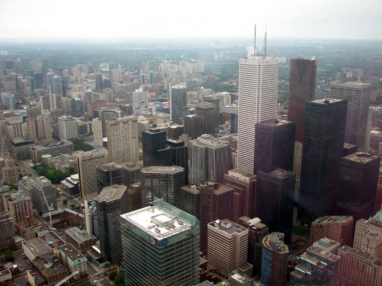 Toronto Photos :: Panoramic views :: A view from CN Tower