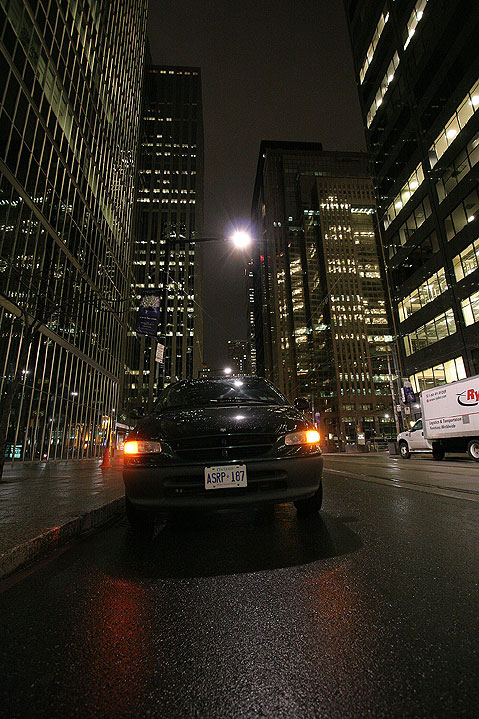 World Travel Photos :: Night views :: Toronto downtown. Corporate buildings at night