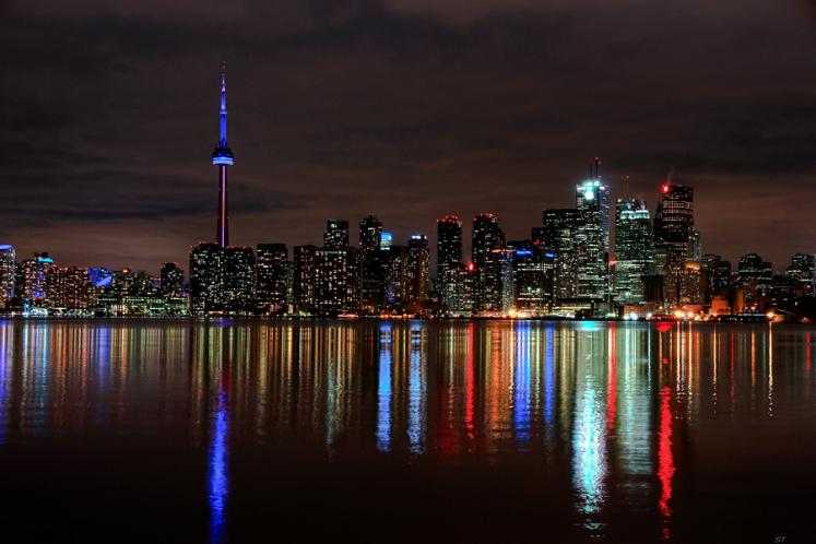 Toronto Photos :: Night views :: Downtown Toronto