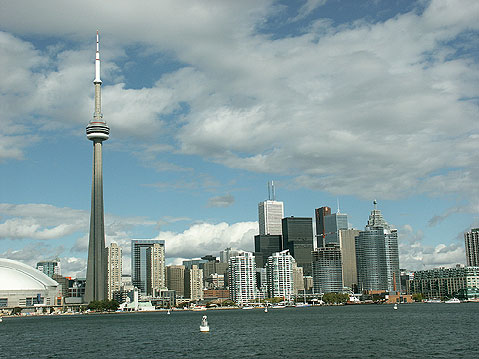 Toronto Photos :: Panoramic views :: Toronto. Spectacular view of downtown