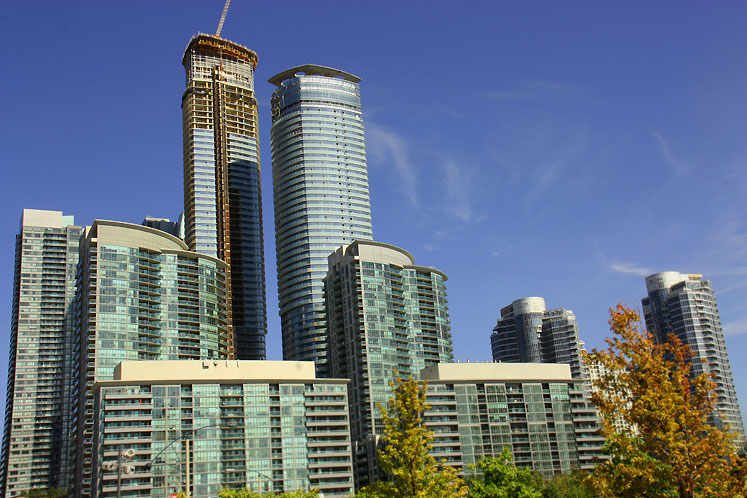 Toronto Photos :: Downtown :: Toronto. Waterfront condominiums