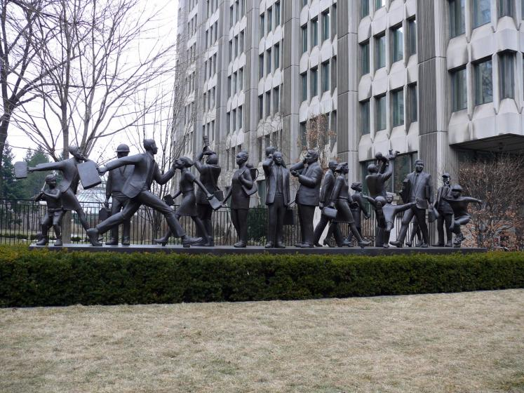 Toronto Photos :: Sculptures in the city :: Torontonians