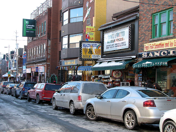 Toronto Photos :: Kensington market :: Shops of the Kensington Market