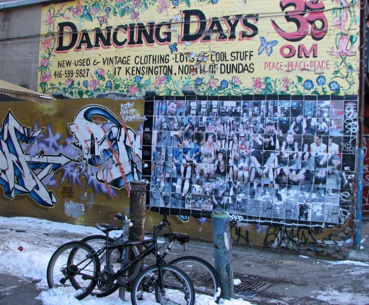 Toronto Photos :: Wall Murals & Graffiti :: Walls of the Kensington Market