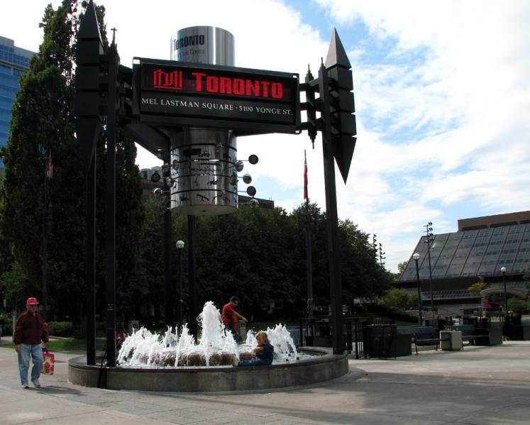 Toronto Photos :: Yonge Street :: North York. Mel Lastman Square