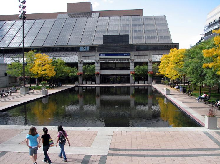 Toronto Photos :: Mel Lastman Square :: Pond in Mel Lastman Square