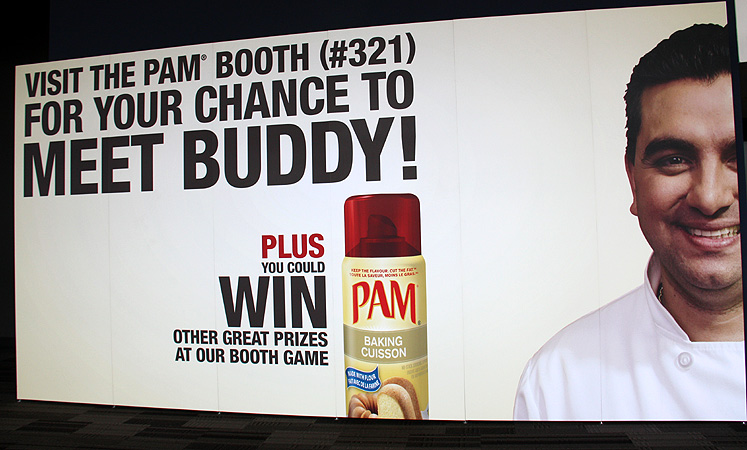 Toronto Photos :: Canadas Baking And Sweets Show 2013 :: A poster of Buddy Valastro (