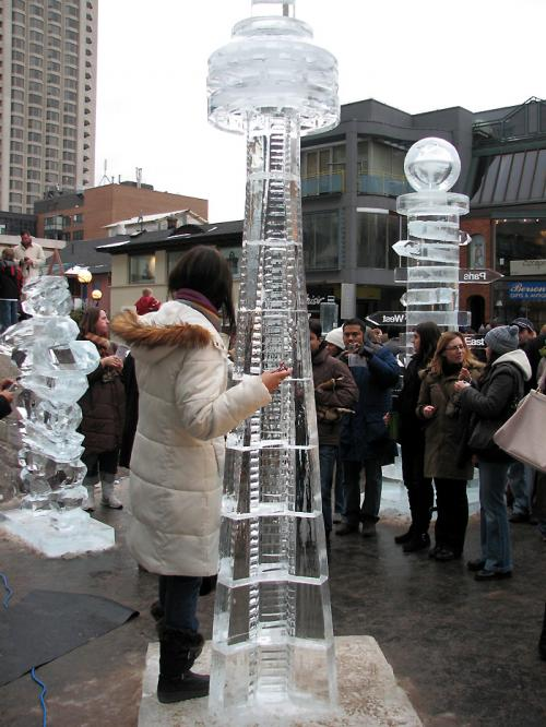 Toronto Photos :: Toronto Ice Fest 2009 :: Toronto Ice Fest 2009 - CN Tower