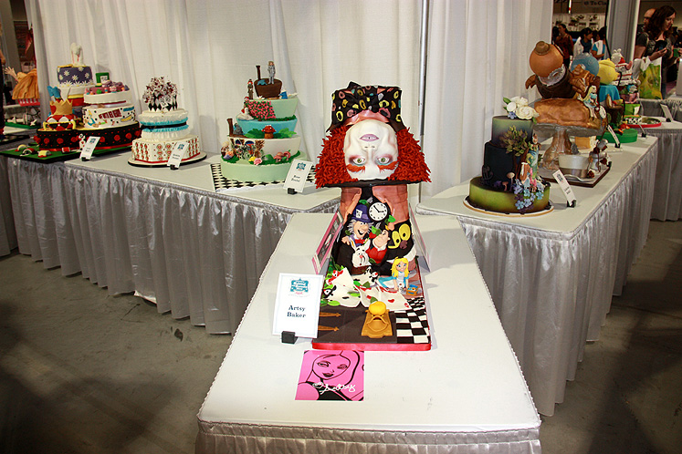 Toronto Photos :: Toronto  Misc :: Canada`s Baking & Sweets Show 2013 - Mad Hatter