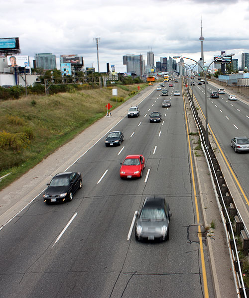 World Travel Photos :: Roads :: Toronto. Gardiner Expressway