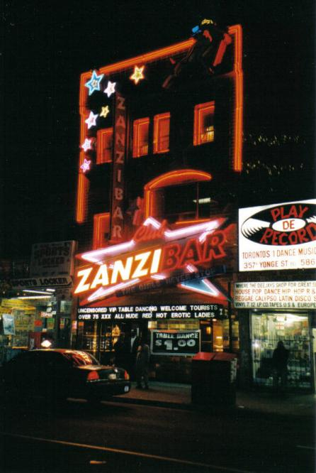 Toronto Photos :: Night views :: Zanzibar for adults.