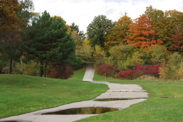World Travel Photos :: Roads :: Toronto. North York - Fall - G Ross Lord Park