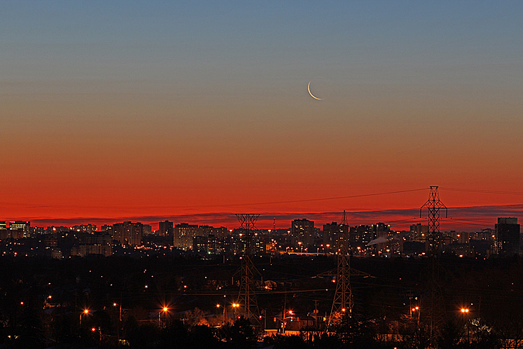 World Travel Photos :: Sky :: Toronto before the sunrise