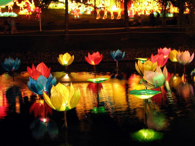 World Travel Photos :: Reflections :: Toronto. Rogers Chinese Lantern Festival 2007