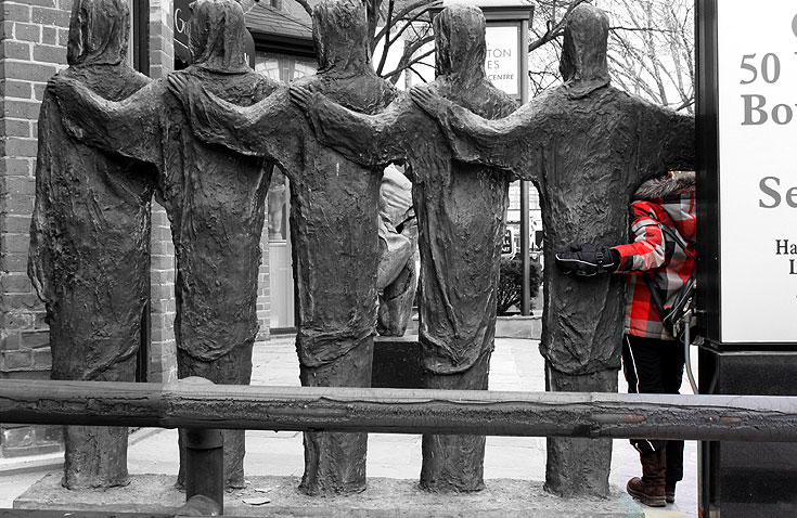 World Travel Photos :: Feel good photos :: Toronto. A sculpture in Yorkville
