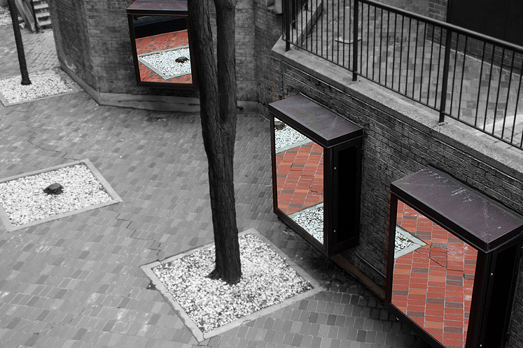 World Travel Photos :: Reflections :: Toronto. Yorkville - mirrors