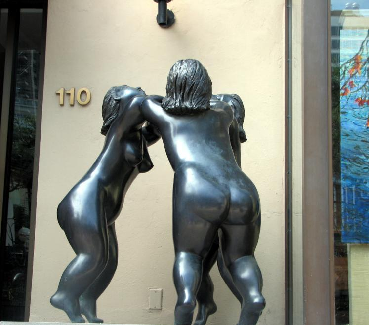 Toronto Photos :: Sculptures in the city :: Toronto. Yorkville